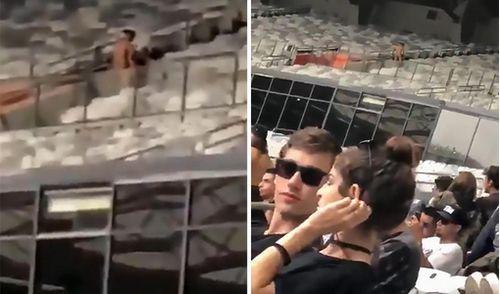 Tham dự lễ hội âm nhạc, cặp nam nữ thản nhiên 'mây mưa' ở sân vận động
