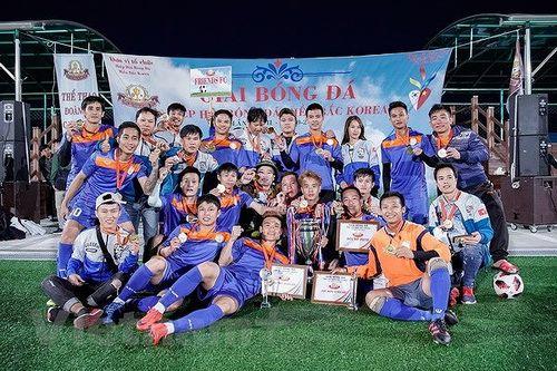 Cộng đồng người Việt tổ chức giải bóng đá lớn tại Hàn Quốc
