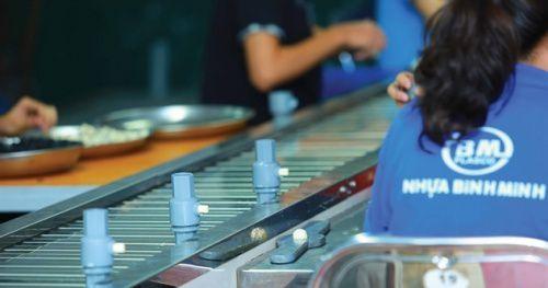 Nhựa Bình Minh: Tăng trưởng 18% một năm nhờ cải tiến