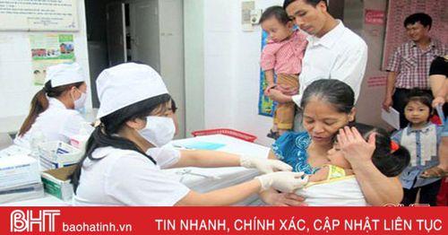 Từ 14/10, Hà Tĩnh tổ chức tiêm vắc-xin bại liệt IPV cho trẻ đủ 5 tháng tuổi