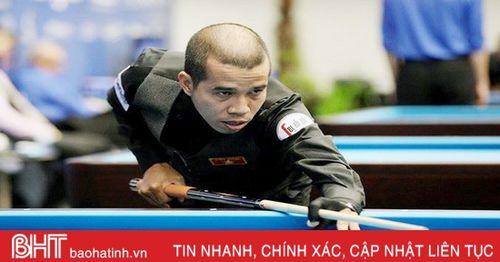 Tay cơ Hà Tĩnh vào top 6 cơ thủ kiếm tiền giỏi nhất làng billiards thế giới