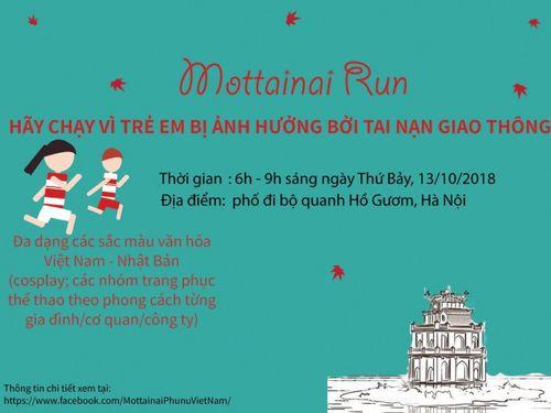 Thông báo dành cho vận động viên tham gia thi chạy Mottainai Run