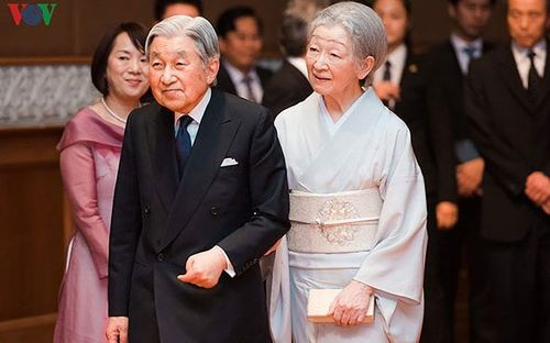Đại sứ Việt Nam tại Nhật Bản chào từ biệt Nhà Vua và Hoàng hậu