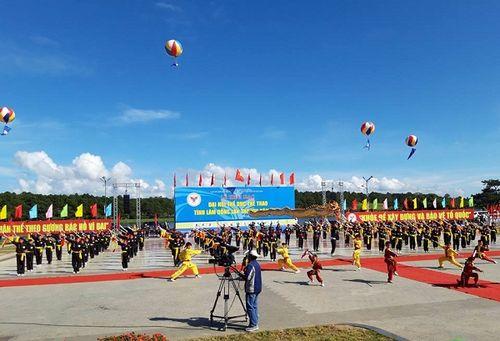 Lâm Đồng: 8000 người tham dự Đại hội thể dục thể thao của tỉnh lần thứ VIII năm 2018