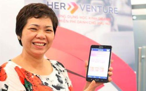 Khám phá bài học kinh doanh bằng ứng dụng dành riêng cho phụ nữ Việt