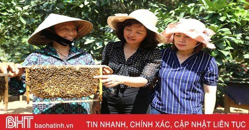Phụ nữ Hà Tĩnh trở thành chủ thể của nông thôn mới