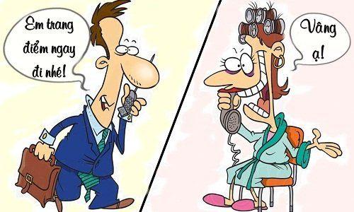 Sáng cười: Chồng lo xa vì quá hiểu tính vợ