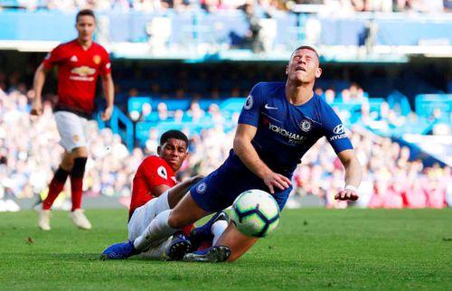 Ross Barkley ghi bàn phút 90'+6, Chelsea thoát thua trước MU