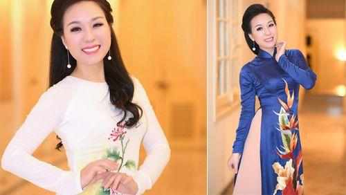 Sao Mai Thu Hà dịu dàng trong tà áo dài mở màn đêm nhạc 'Chiều nắng'