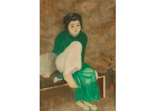 Tranh của họa sư Nam Sơn được mua với giá gần 12 tỷ
