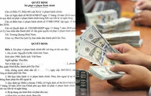 Vụ xử phạt 90 triệu đồng khi đổi 100 USD: Luật sư nói gì?