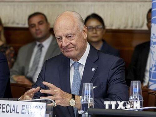 Đặc phái viên LHQ về Syria tới Damascus thảo luận về hiến pháp