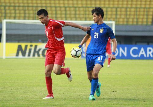 Thắng nghẹt thở, U19 Thái Lan vào tứ kết U19 châu Á