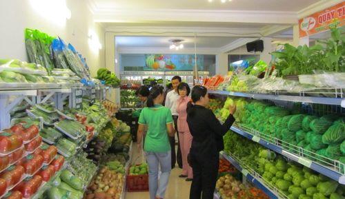 Nông sản sạch chật vật vào siêu thị