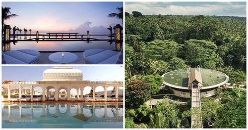 Top 10 resort sang chảnh nhất châu Á quá kỳ lạ khi chỉ có Ấn Độ và Indonesia