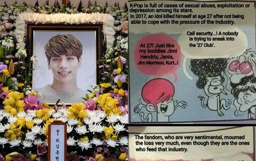 Thẳng tay 'mỉa mai' về sự ra đi của Jonghyun và ngành giải trí Kpop, tờ tạp chí Tây Ban Nha đối diện với 'bản án' đóng cửa