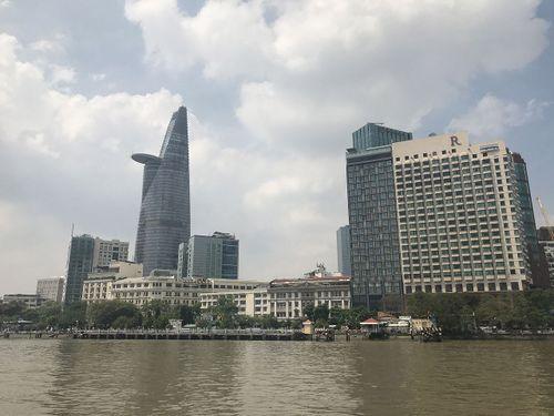 Ngắm trung tâm Sài Gòn nhìn từ trên cao