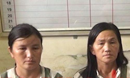 Bắt quả tang hai 'nữ quái' vận chuyển heroin và 30.000 viên hồng phiến
