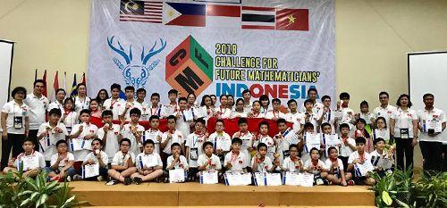 48/48 học sinh Việt Nam đạt giải thưởng cuộc thi 'Thử thách nhà Toán học tương lai'