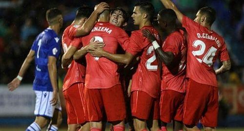 Real dành chiến thắng đầu tiên dưới triều đại Santiago Solari