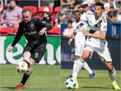 Rooney, Ibrahimovic lọt top 5 đề cử cầu thủ hay nhất năm của MLS
