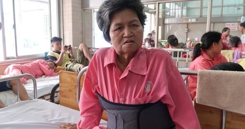 Lời kể của nạn nhân bị gã tài xế đạp xuống đường ở Tiền Giang