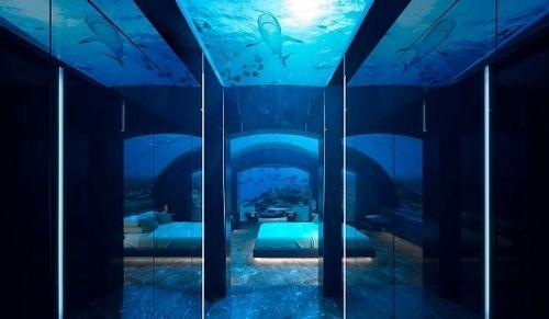 Biệt thự trong lòng biển chỉ có ở Maldives