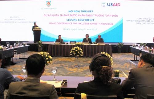 Hoa Kỳ giúp Việt Nam nâng cao năng lực Quản trị Nhà nước