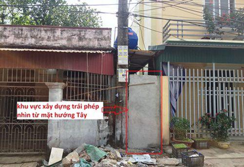 Thanh Hóa: Lấn chiếm đất hàng xóm, xây dựng trái phép nhưng không bị xử lý?