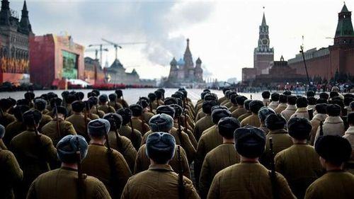 Nga duyệt binh kỷ niệm 77 năm Chiến tranh Vệ quốc vĩ đại