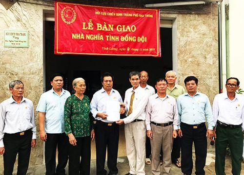 Nha Trang: Bàn giao nhà 'Nghĩa tình đồng đội' ở xã Vĩnh Lương