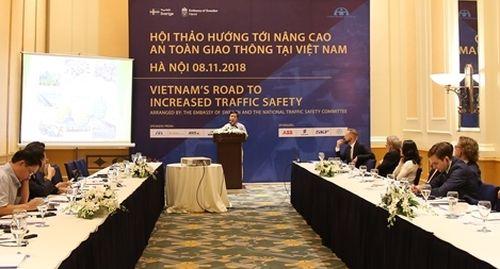 Thụy Điển hiến kế giúp nâng cao an toàn giao thông tại Việt Nam