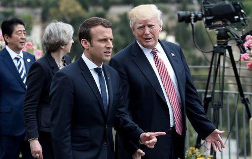 Tổng thống Mỹ - Pháp nhất trí tăng ngân sách quốc phòng của châu Âu