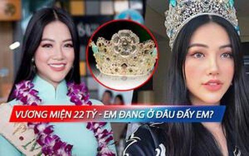 Trả lời giúp fan: 'Vương miện 22 tỷ đang ở đâu đấy em?' khi Phương Khánh trở về Việt Nam
