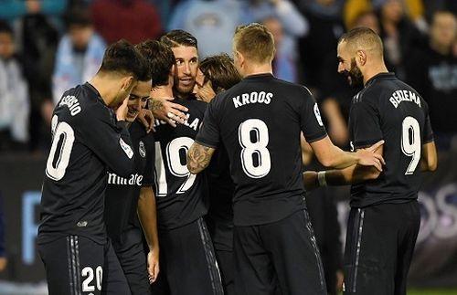 Thắng Celta Vigo, Real tiếp tục chuỗi trận ấn tượng
