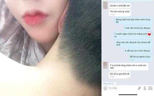 Thanh niên cặp gái trẻ, bội bạc tuyên bố không đủ khả năng nuôi vợ con gây bức xúc