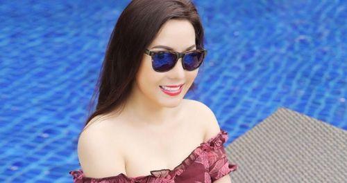 Nữ hoàng doanh nhân Kim Chi khoe hình thể thon gọn khi ở tuổi 40