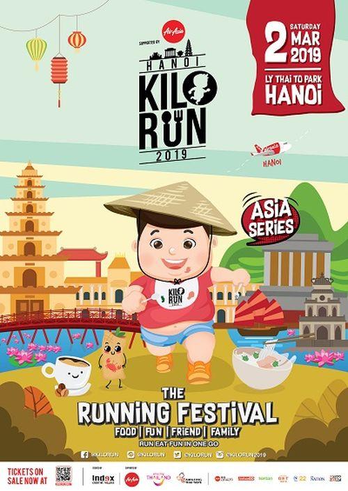 Độc đáo Giải chạy 'Kilorun Hà Nội'