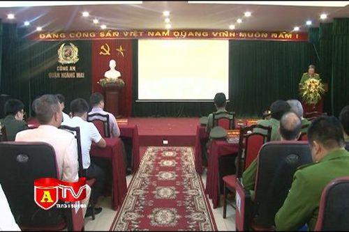 Hợp nhất và ra mắt 3 đội nghiệp vụ mới CAQ Hoàng Mai