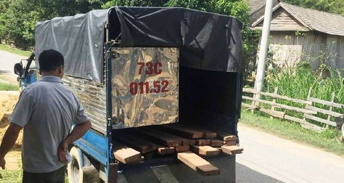 Truy đuổi xe chở gỗ lậu, 2 cán bộ Kiểm lâm bị đánh trọng thương