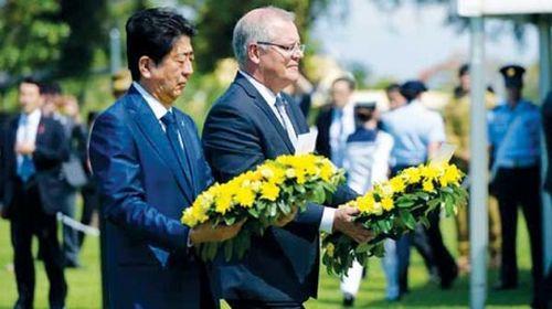 Nhật-Úc hợp lực đối phó Trung Quốc