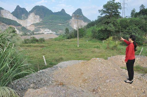 Cần sớm khắc phục tình trạng ô nhiễm môi trường do hoạt động khai thác đá ở Đồng Cao