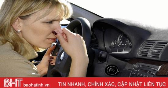 7 thói quen sử dụng giúp nội thất ôtô luôn sạch sẽ