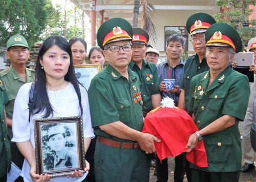 Một gia đình Hải Dương tìm được hài cốt liệt sĩ tại Đồng Nai