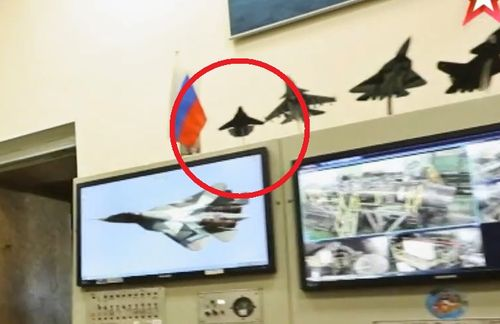 Truyền hình Nga 'vô tình' để lộ mẫu chiến đấu cơ siêu thanh thế hệ 6