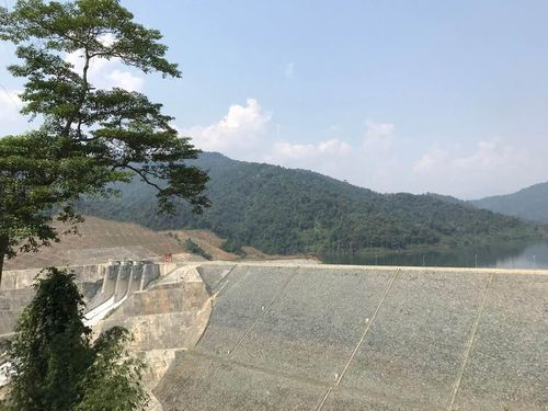 Thủy điện Sông Bung 2 tích nước hồ chứa trở lại
