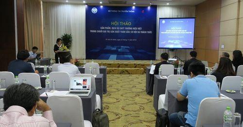 Nhìn lại những cơ hội và thách thức đối với sản phẩm, dịch vụ công nghệ thông tin thương hiệu Việt