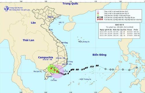 Ứng phó cơn bão số 9: Các dự án của PVEP đảm bảo an toàn