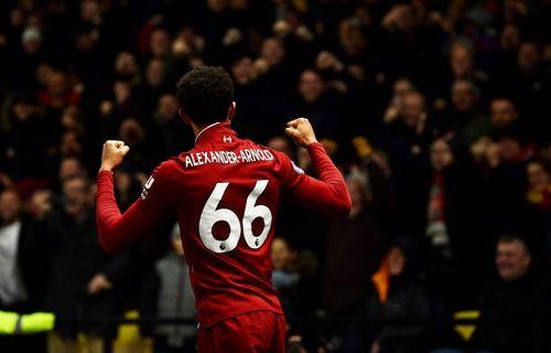 Toàn cảnh Liverpool 3-0 Watford: Alexander-Arnold vẽ cầu vồng bằng chân