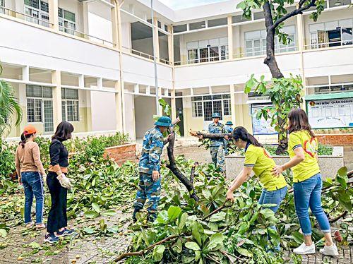 Các ngành nhanh chóng, khẩn trương khắc phục hậu quả sau bão